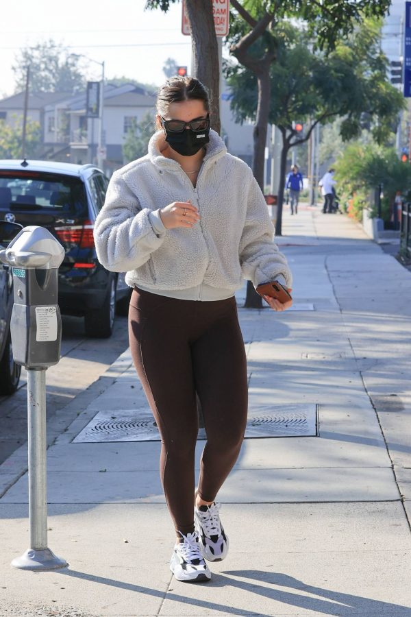 Addison Rae Heads to workout in LA 03