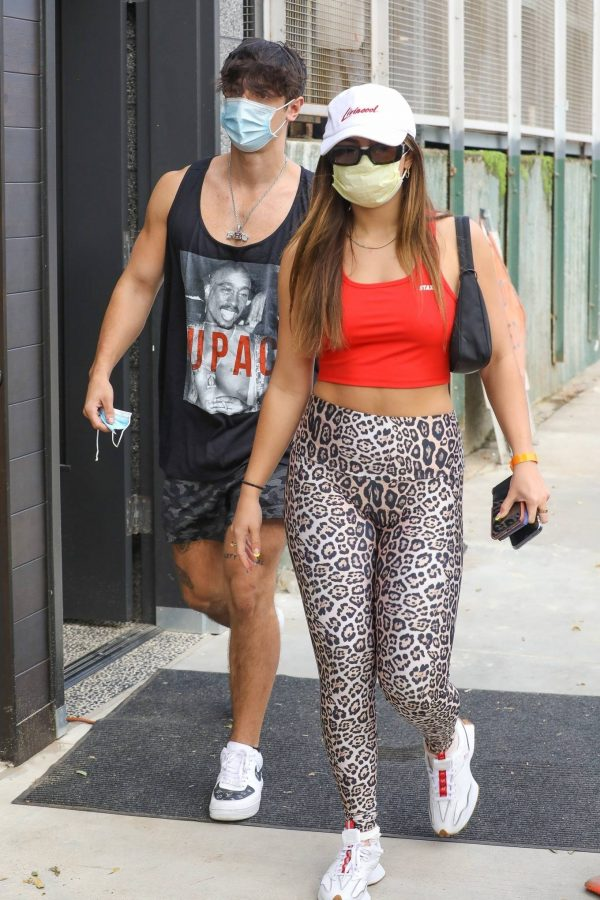 Addison Rae Pictured while out for her workout in Los Angeles 05
