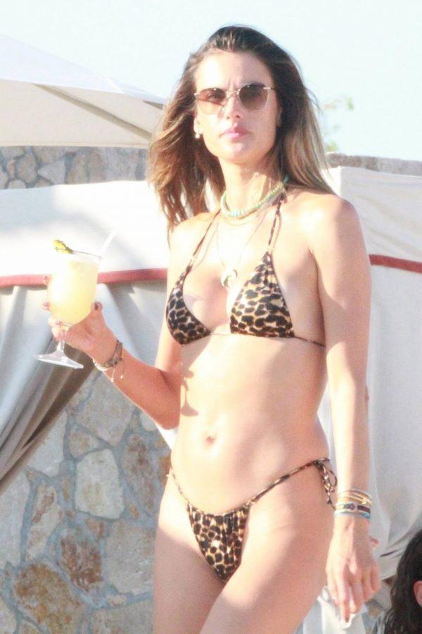 Alessandra Ambrosio Bikini candids in Cabo San Lucas 12