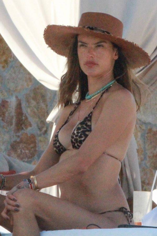Alessandra Ambrosio Bikini candids in Cabo San Lucas 14