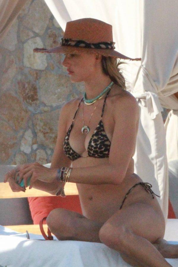 Alessandra Ambrosio Bikini candids in Cabo San Lucas 15