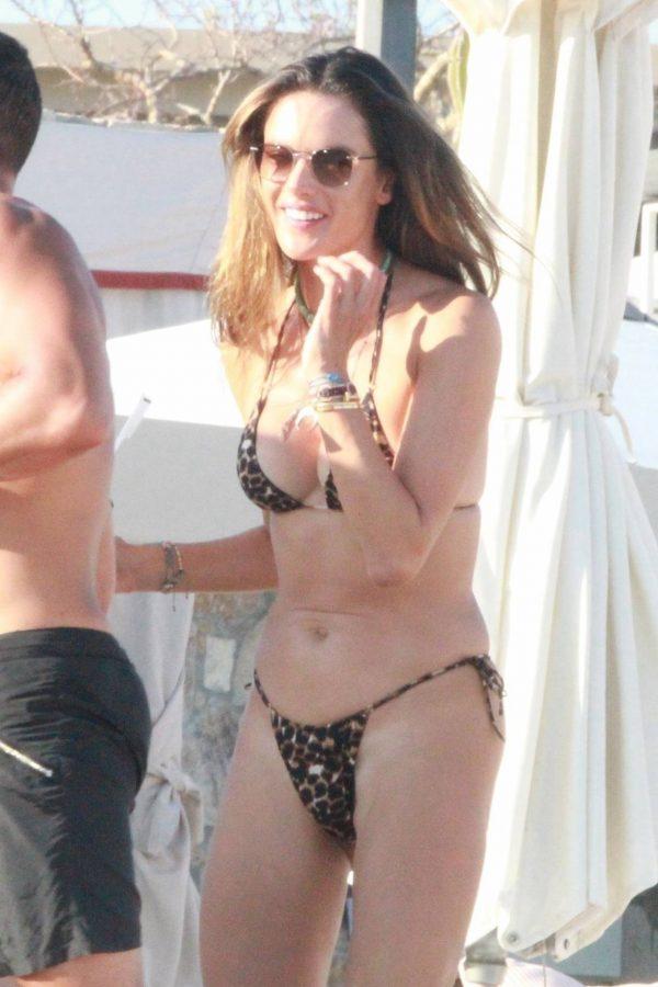 Alessandra Ambrosio Bikini candids in Cabo San Lucas 20