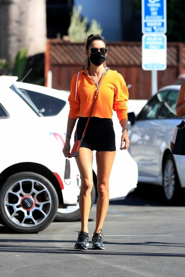Alessandra Ambrosio Spotted while going to a gym in West Hollywood 10