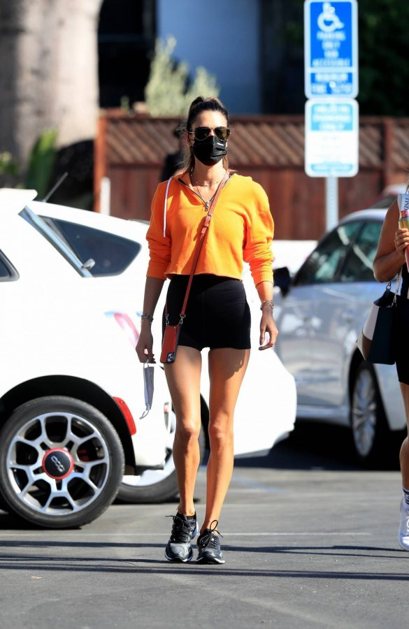 Alessandra Ambrosio Spotted while going to a gym in West Hollywood 11