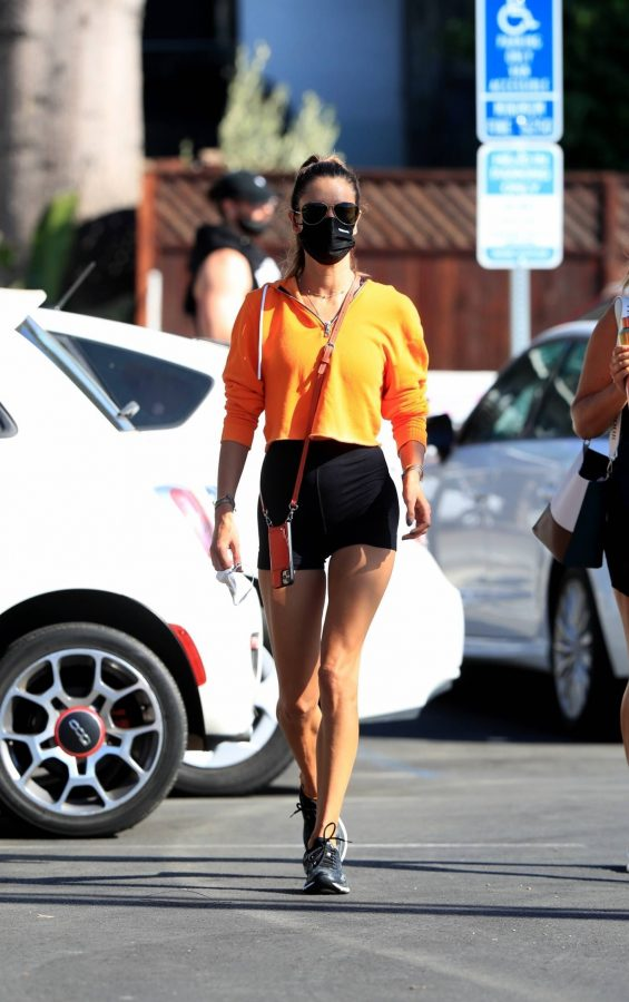 Alessandra Ambrosio Spotted while going to a gym in West Hollywood 13