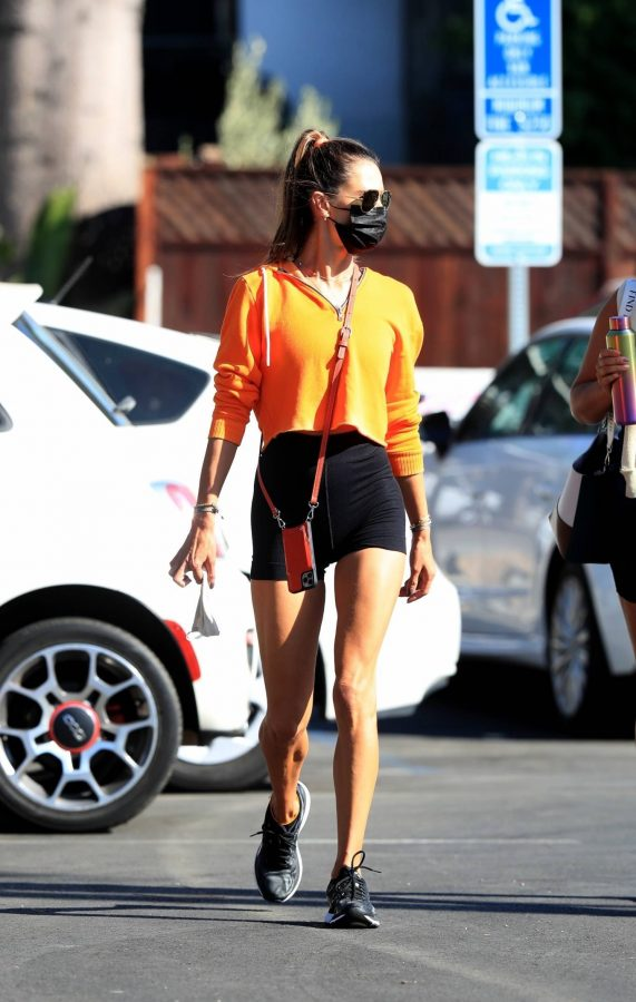 Alessandra Ambrosio Spotted while going to a gym in West Hollywood 17