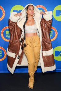 Alicia Keys 2020 MTV Europe Music Awards in Los Angeles 02