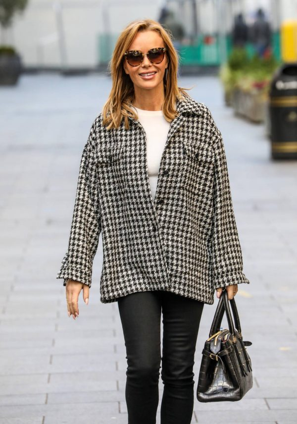 Amanda Holden Looks casual while leaving the Global Studios in London 01