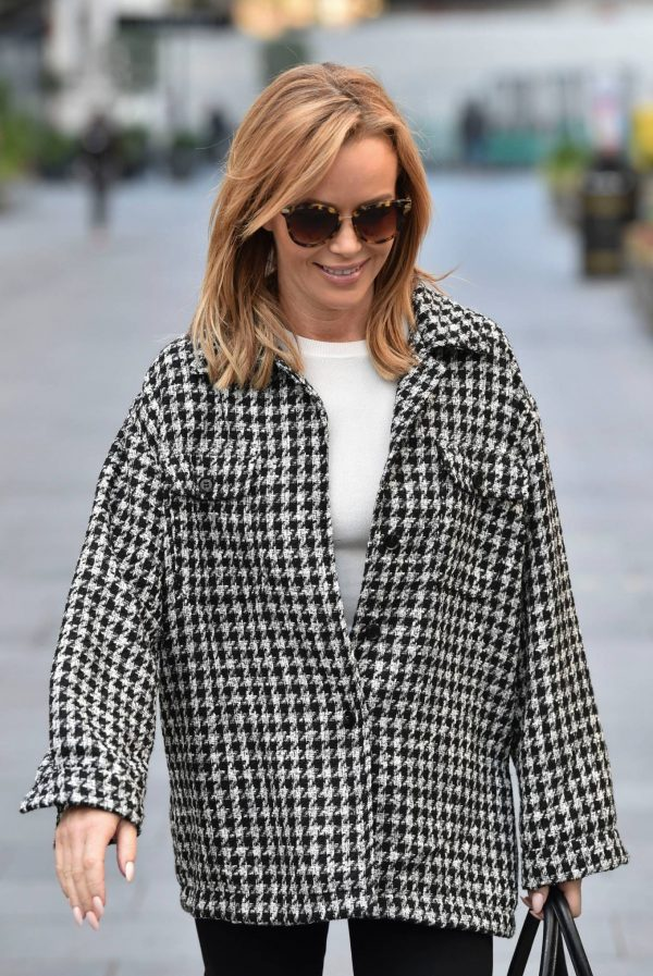 Amanda Holden Looks casual while leaving the Global Studios in London 03