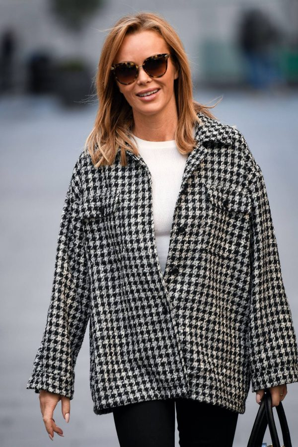Amanda Holden Looks casual while leaving the Global Studios in London 04