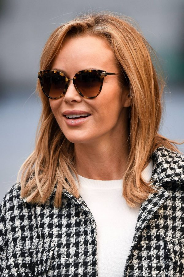 Amanda Holden Looks casual while leaving the Global Studios in London 05
