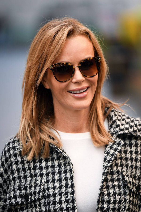 Amanda Holden Looks casual while leaving the Global Studios in London 06