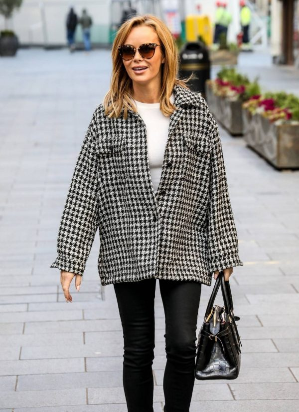 Amanda Holden Looks casual while leaving the Global Studios in London 09
