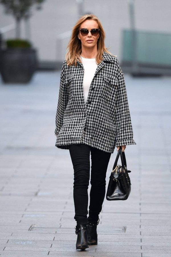 Amanda Holden Looks casual while leaving the Global Studios in London 10