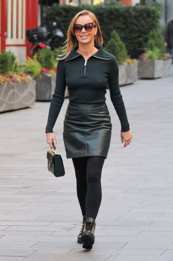 Amanda Holden Pictured leaving the Global studios in London 06