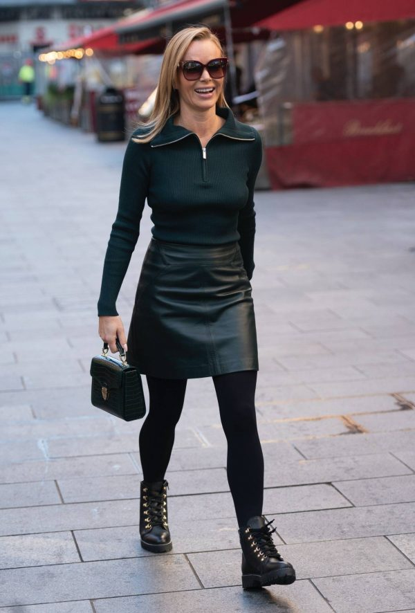 Amanda Holden Pictured leaving the Global studios in London 11