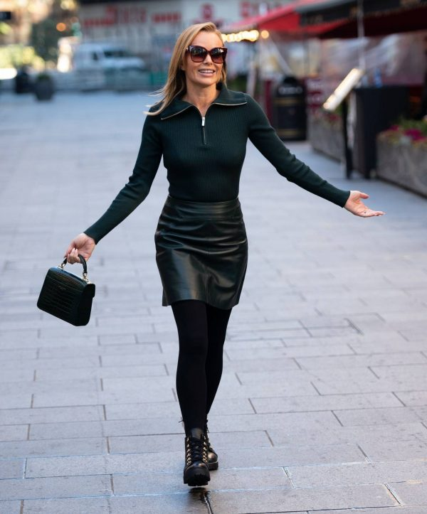 Amanda Holden Pictured leaving the Global studios in London 14