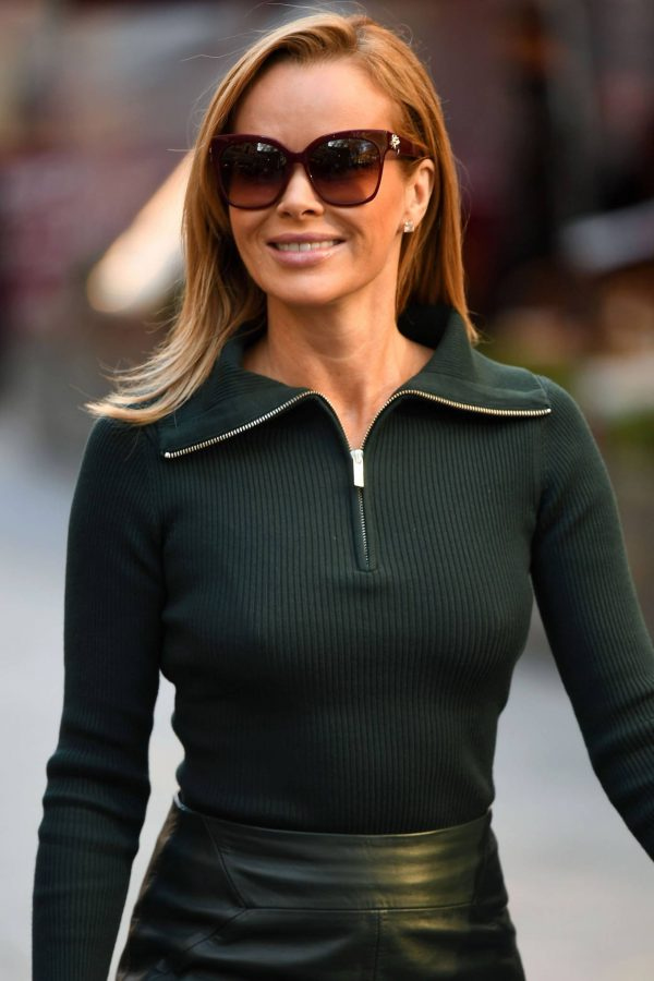 Amanda Holden Pictured leaving the Global studios in London 16