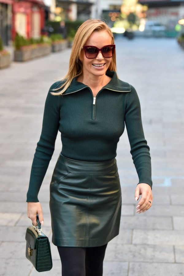 Amanda Holden Pictured leaving the Global studios in London 20