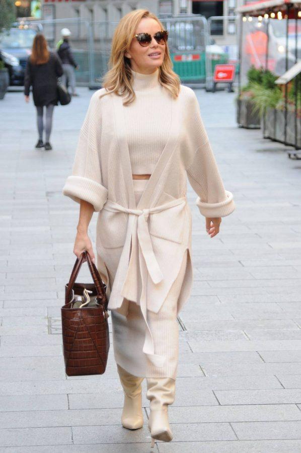 Amanda Holden spotted leaving Global Radio in London 03