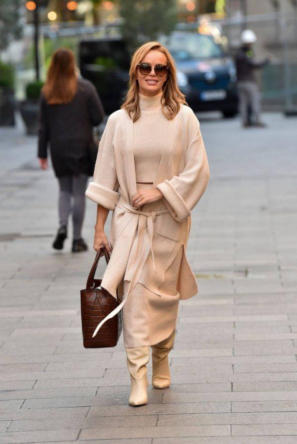 Amanda Holden spotted leaving Global Radio in London 05