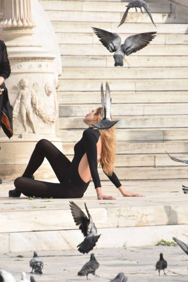 Ana Beatriz Barros Photoshoot candids in Athens 01