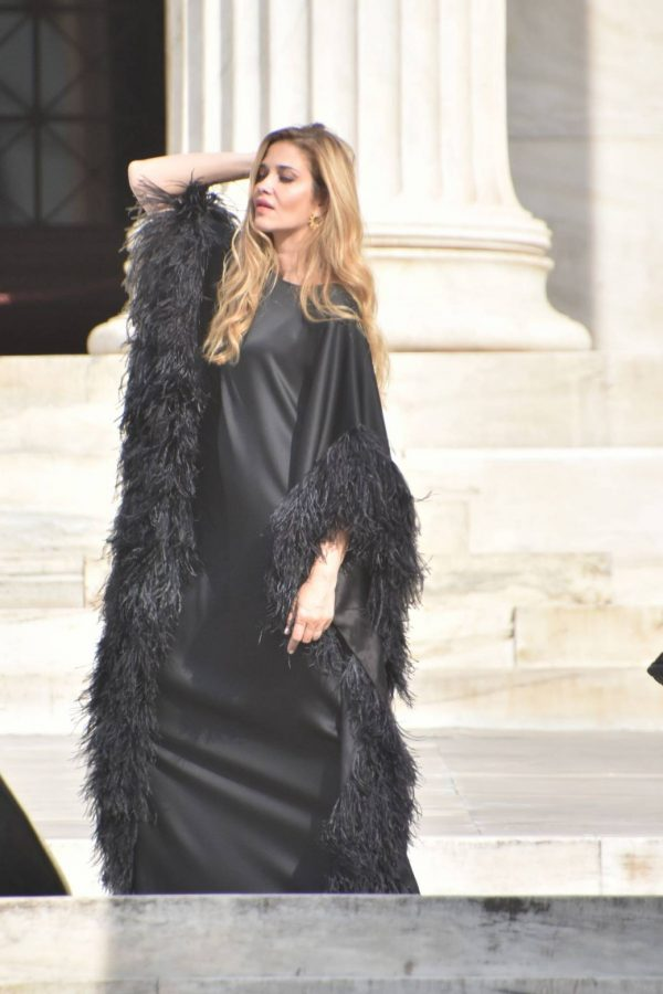 Ana Beatriz Barros Photoshoot candids in Athens 05