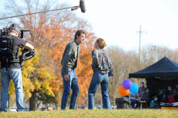 Anna Paquin Modern Love set in Collins Park in Schenectady 07