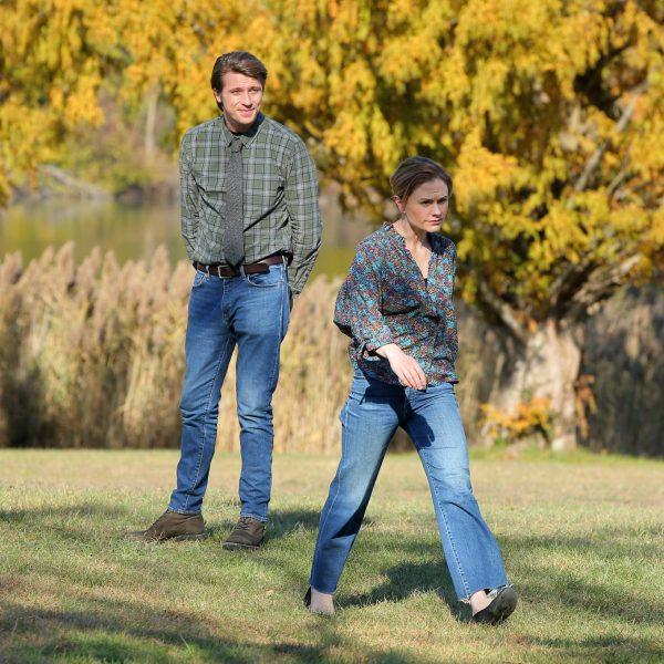 Anna Paquin Modern Love set in Collins Park in Schenectady 19