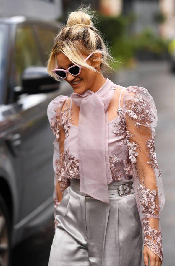 Ashley Roberts Looking stylish in London 04