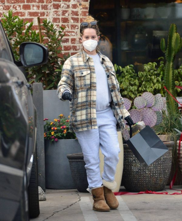 Ashley Tisdale Seen at rolling greens farm and garden store in Los Angeles 06