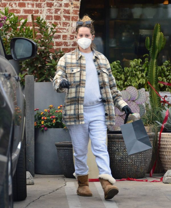 Ashley Tisdale Seen at rolling greens farm and garden store in Los Angeles 11