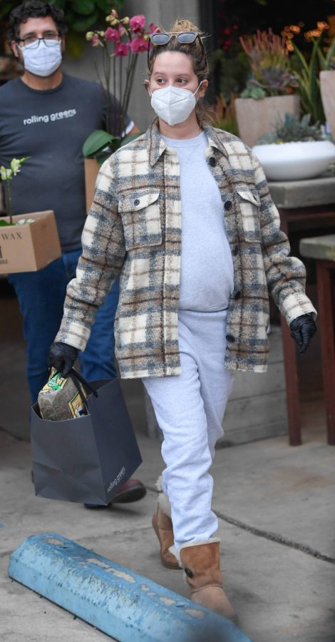 Ashley Tisdale Seen at rolling greens farm and garden store in Los Angeles 22