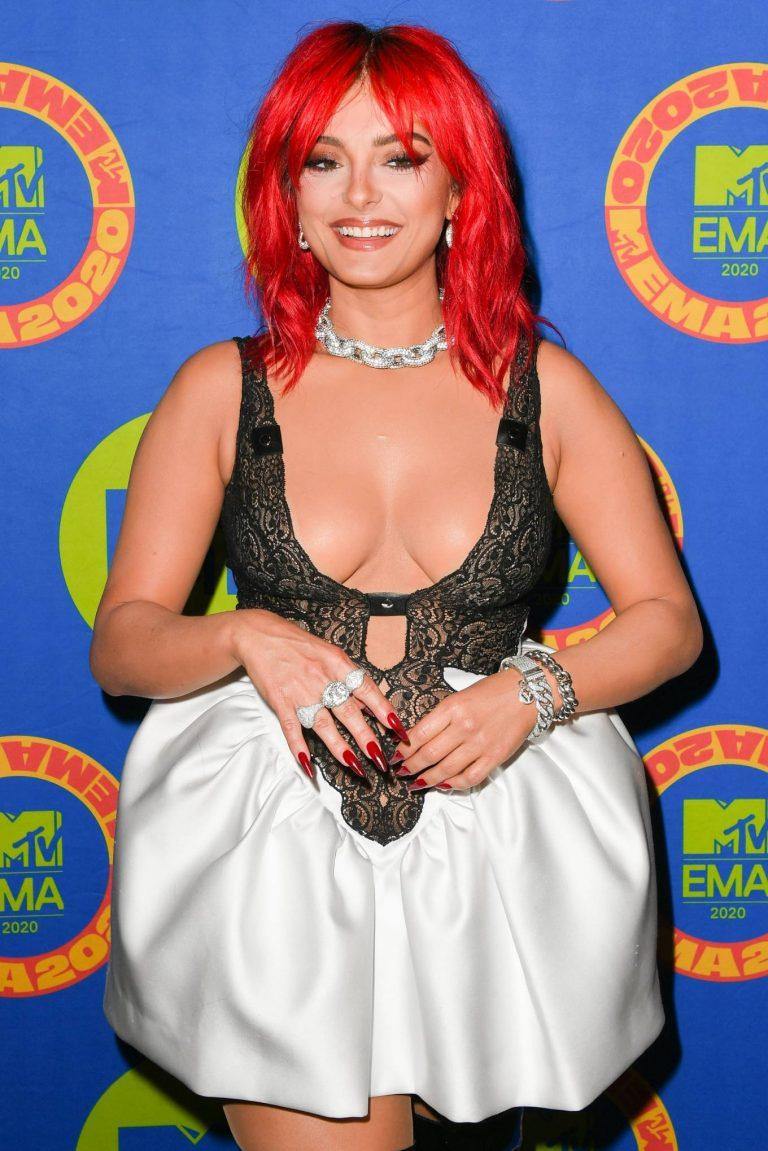 Bebe Rexha 2020 MTV Europe Music Awards in Los Angeles 01