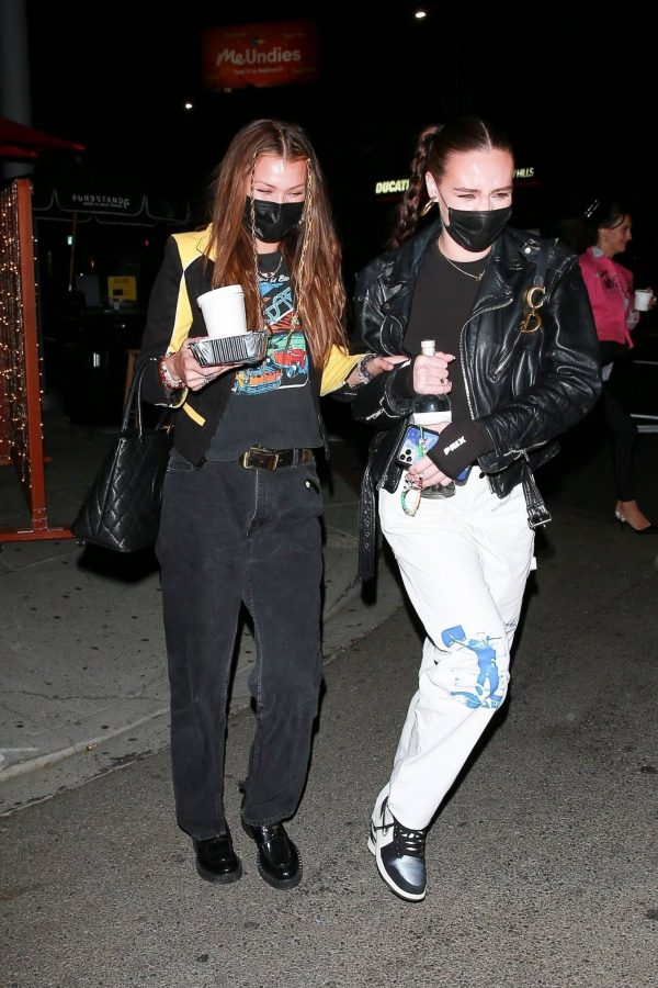 Bella Hadid Girls night out in Beverly Hills 08