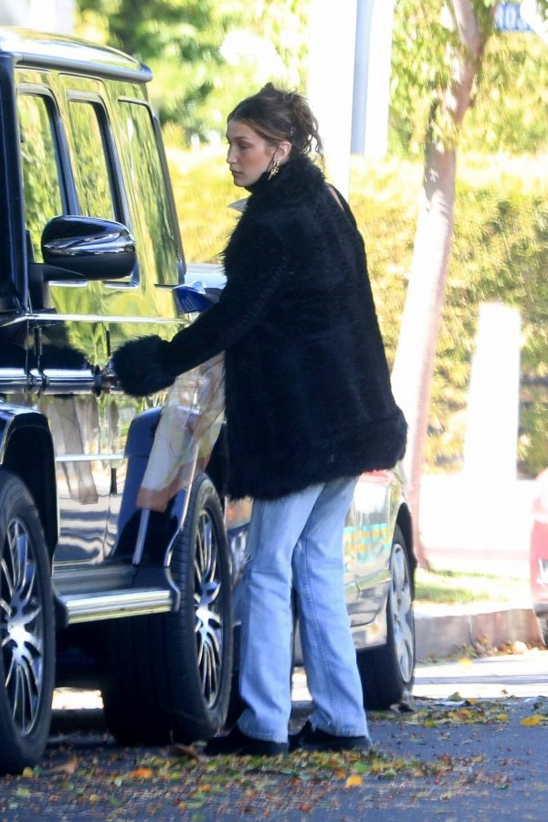 Bella Hadid leaves a friends house in Beverly Hills 03