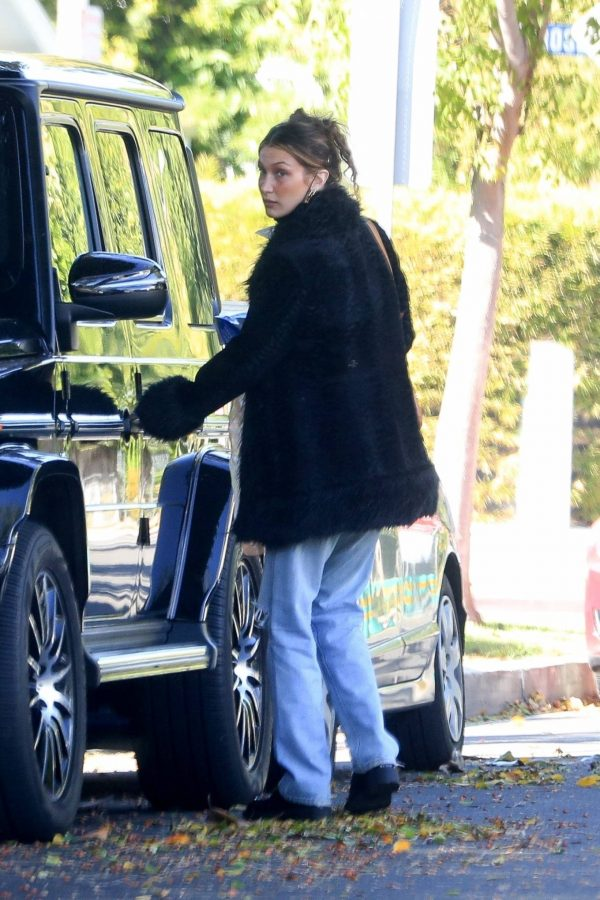 Bella Hadid leaves a friends house in Beverly Hills 06