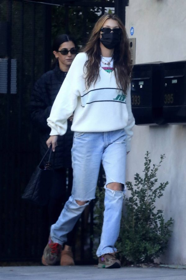 Bella Hadid spotted leaving a studio after a meeting in Los Angeles 03