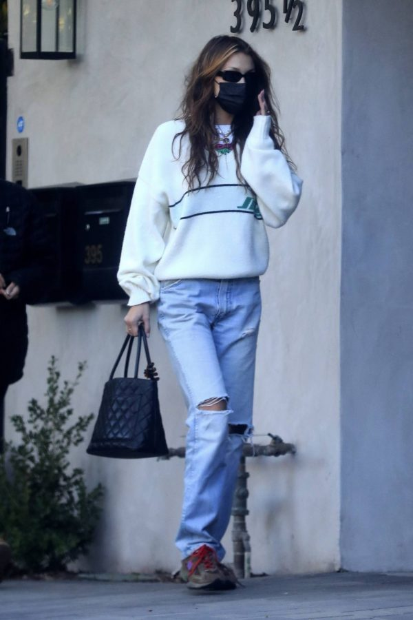 Bella Hadid spotted leaving a studio after a meeting in Los Angeles 12