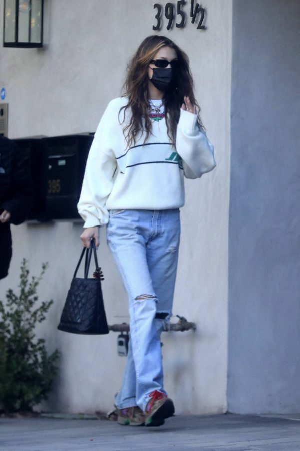 Bella Hadid spotted leaving a studio after a meeting in Los Angeles 13