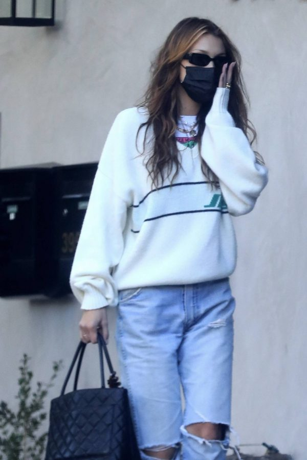 Bella Hadid spotted leaving a studio after a meeting in Los Angeles 14