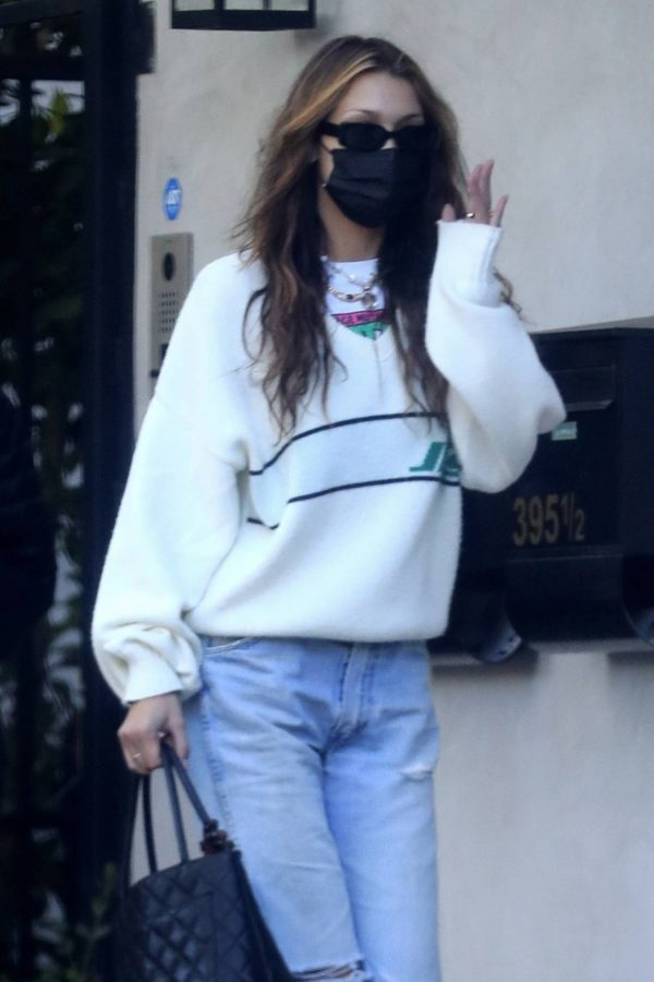 Bella Hadid spotted leaving a studio after a meeting in Los Angeles 16