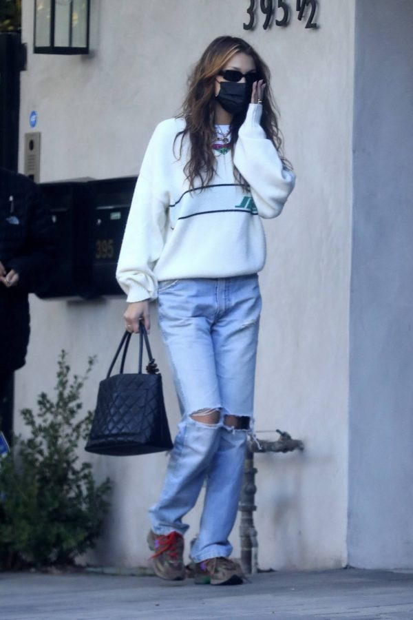Bella Hadid spotted leaving a studio after a meeting in Los Angeles 17
