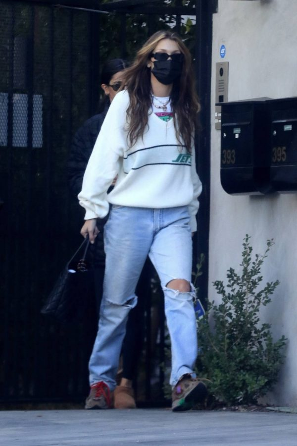 Bella Hadid spotted leaving a studio after a meeting in Los Angeles 19