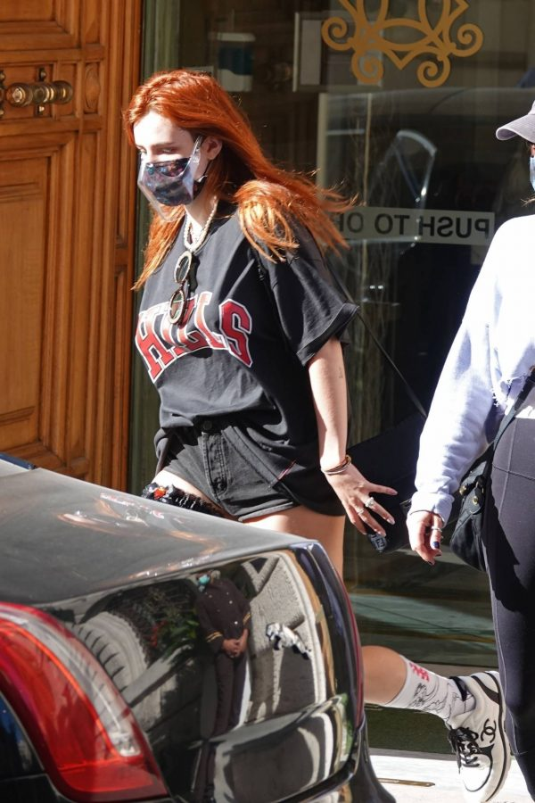 Bella Thorne Seen leaving her hotel in Rome 07 1
