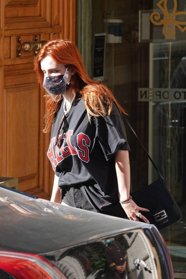 Bella Thorne Seen leaving her hotel in Rome 08 1