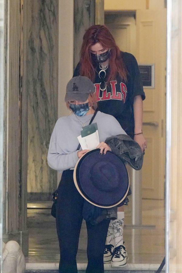 Bella Thorne Seen leaving her hotel in Rome 09 1