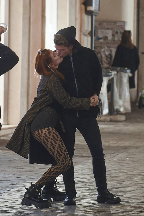 Bella Thorne on PDA with boyfriend singer Benjamin Mascolo in Rome 12