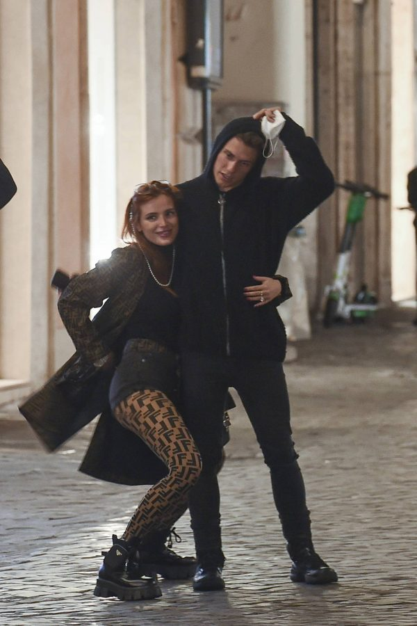 Bella Thorne on PDA with boyfriend singer Benjamin Mascolo in Rome 28