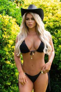 Bianca Gascoigne In a bikini for 2021 Calendar photoshoot in Lanzarote 06